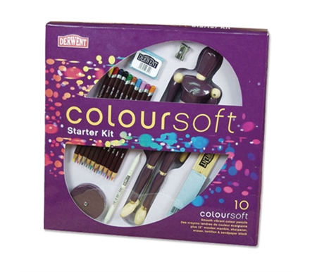 Derwent Coloursoft Pencil Set of 10