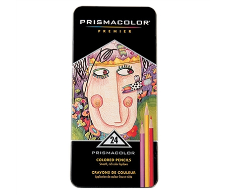Prismacolor Premier Colored Pencil 24 Set with BONUS