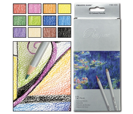 Colored Pencils feature extra smooth, extra brilliant colored leads.