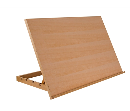 Built from sturdy hardwood, this sturdy surface is perfect for drawing, sketching and designing