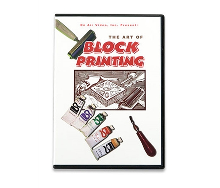 Learn block printing techniques from the industry leader!