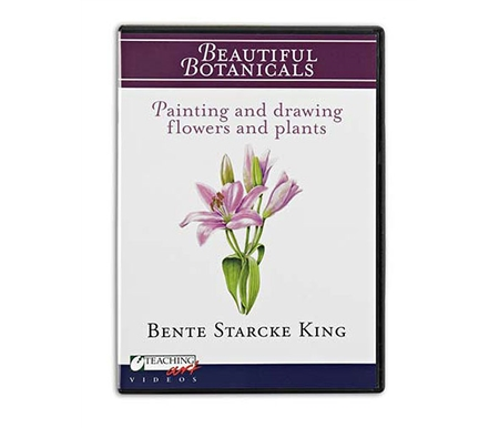 In this wonderful DVD, King covers a gamut of classic flora such as tulips, primroses, daffodils and calla lilies.