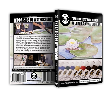 Turner Artists\' Watercolors: The Basics of Watercolor DVD with Stephen Filarsky