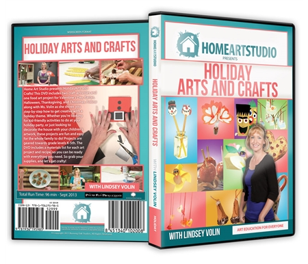 Holiday Arts and Crafts DVD