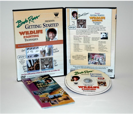 Bob Ross Wildlife Series Getting Started DVD