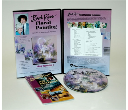 Bob Ross Floral Painting DVD