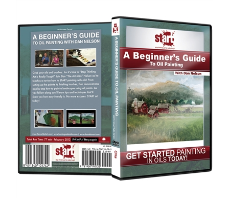 A Beginner's Guide To Oil Painting DVD with Dan Nelson