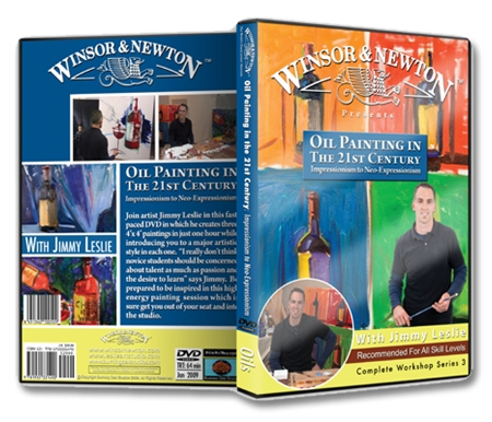 Oil Painting in the 21st Century: Impressionism to Neo-Expressionism DVD