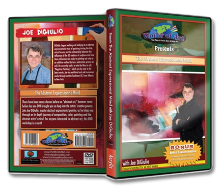 The Abstract Expressionist Mind DVD with Joe DiGiulio