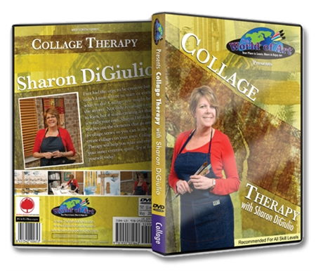 Collage Therapy DVD with Sharon DiGiulio