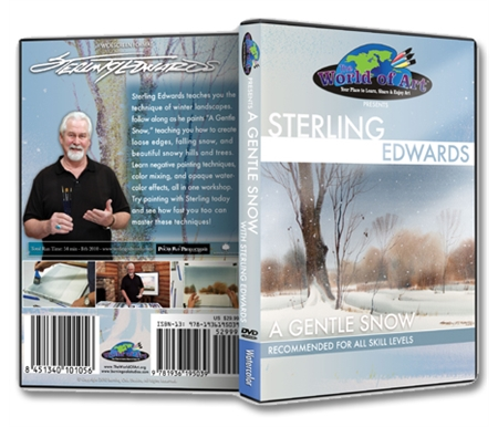 A Gentle Snow DVD with Sterling Edwards
