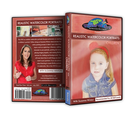 If you are serious about learning to create life-like portraits in watercolor, this is the DVD for you!