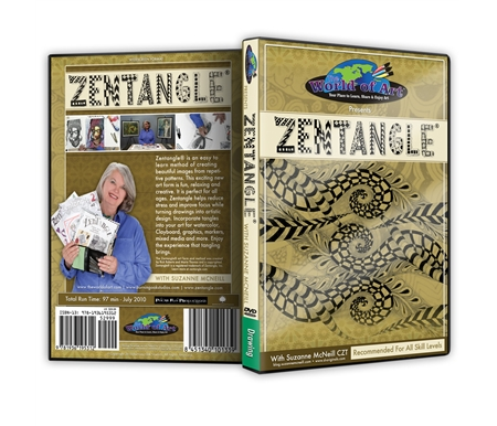 Zentangle is an easy to learn method of creating beautiful images from repetitive patterns.
