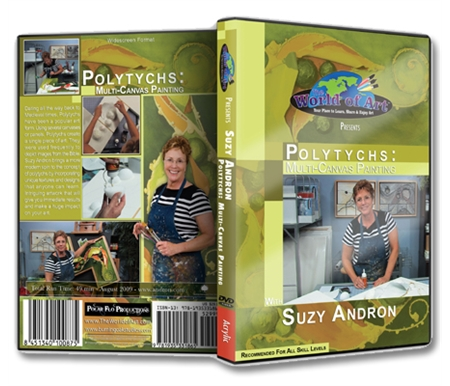 Polytychs: Multi-Canvas Painting DVD with Suzy Andron