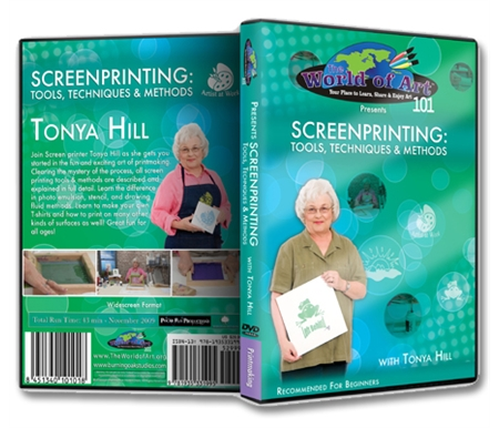 Screenprinting: Tools, Techniques and Methods DVD