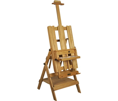 Each BEST Easel is made of American Oak, sanded to a smooth surface, then hand-rubbed with oil for a beautiful, lasting finish.