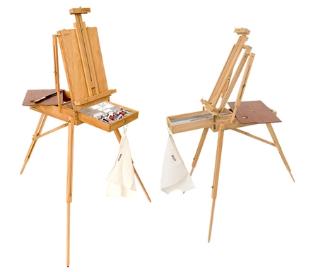 Original French Easel  - or -  Half Box French Easel