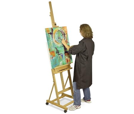 The Pablo Easel is available in premium oil finished Beechwood.