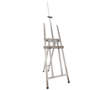 This amazing easel is surprisingly strong for its lightweight construction — or surprisingly lightweight for its strength!