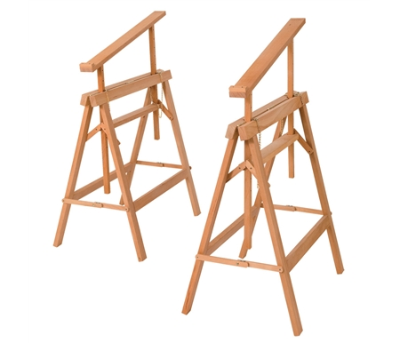 Jullian Timber Art Trestles