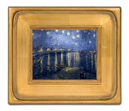 Photographs, landscapes and still life paintings that require simplicity will look best in this frame.
