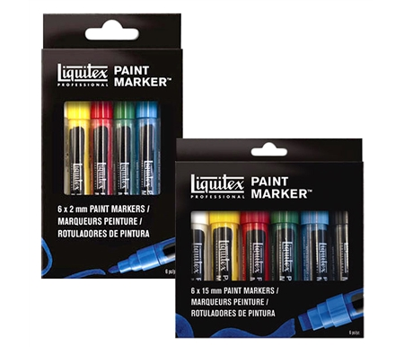 Liquitex Professional Paint Marker Sets of 6
