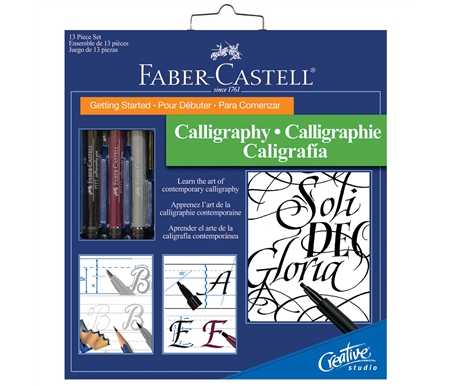 Faber-Castell Getting Started Calligraphy Set
