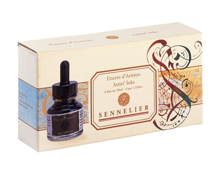 Sennelier Artist Ink Set of 4
