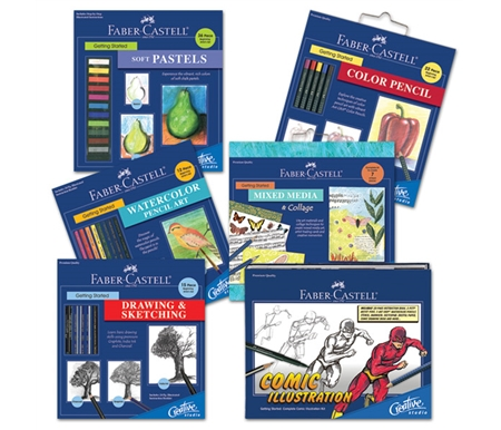 All of these sets are perfect for beginners and anyone who wants to sharpen their skills!