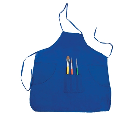 Each set includes a child-size, water-resistant nylon smock and 3 quality assorted paintbrushes.