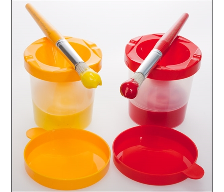 First Impressions Elementary Painting Pots