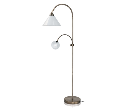 Naturalight Home Décor Floor Lamp with Magnifier