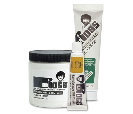 Bob Ross Oil Colors are a special firm oil paint which is a bit thicker than conventional artists\' colors due to the needs of the Bob\'s famous wet-on-wet technique.