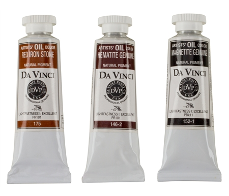 Da Vinci Natural Pigment Oils