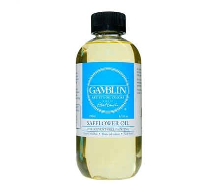 FREE* 2oz bottle of Gamblin Safflower Oil