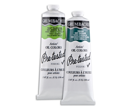 Grumbacher Pre-Tested Oil Paint 150 ml tubes