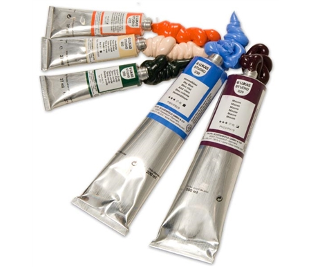 An amazing range of oil paints, all with an incredibly buttery, smooth consistency!