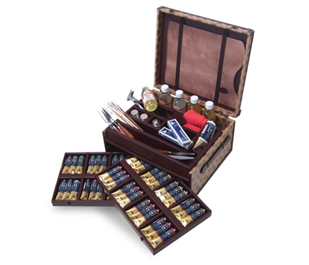 Now these world-renowned fine artists' oil paints are available in a beautiful limited edition set!