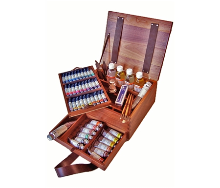 Mairmeri Puro Oil Painting Walnut Luxury Box Set
