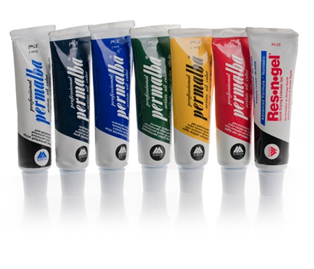 Permalba Professional Artists Oil Paint Impasto Combo Value Pack
