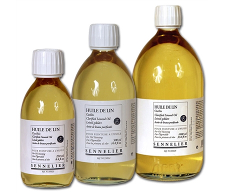 Clarified Linseed Oils