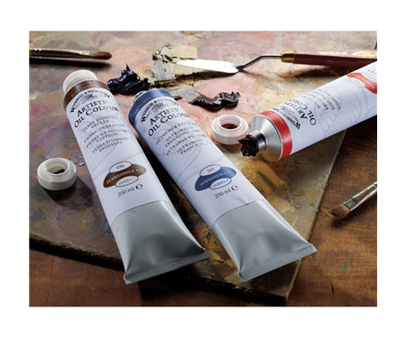 Winsor & Newton Artists\' Oils work perfectly for techniques from impasto to glazing.