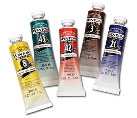 Winsor & Newton Winton Oil Colors