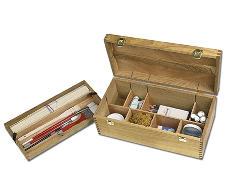 Wood compartments may be removed or added to help organize all your gear with no bother or fuss.
