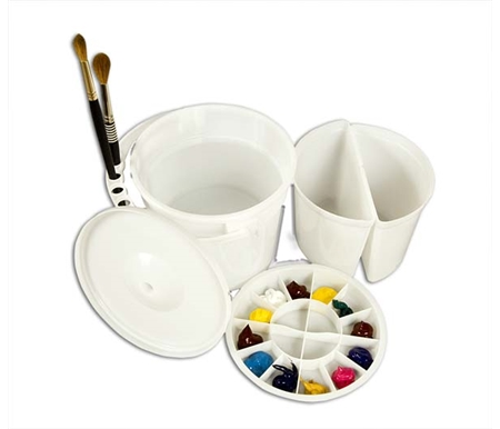 Dupre Watercolor Bucket