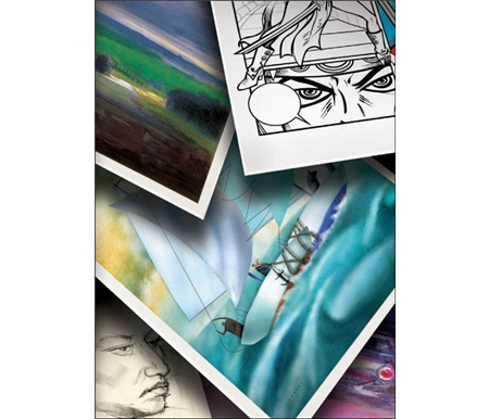 No matter what your artistic style, Canson Art Boards have a surface for you!