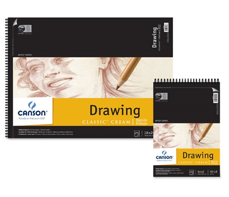 The creamy coloring gives a classic look to all your finished drawings, and the 24 micro-perforated sheets tear cleanly for a polished presentation.