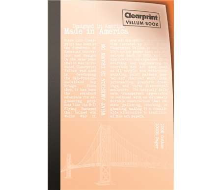 Clearprint Vellum Book