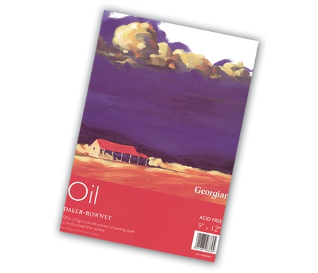 Not only is this paper great for oil painting, it is fantastic for mixed compositions too!