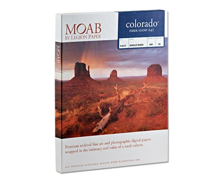 Both styles of Colorado paper are archival and pH neutral.